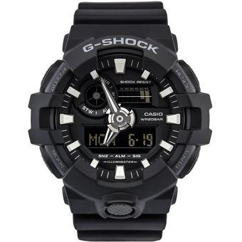 237e6264af Reloj Casio G-Shock GA-700-1B Analógico Y Digital Hombre - Negro ...