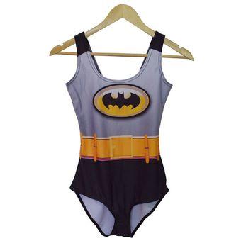 bf0c5b069 Trajes De Baño Mujer DpsHelp Playa La Impresión En 3D Batman Del Traje De  Baño Ropa