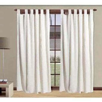 Compra cortina rustica pesada con presillas online linio argentina - Telas rusticas para cortinas ...