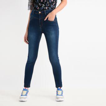Jeans Sybilla Tiro Alto Para Mujer Azul Linio Mexico Sy592fa12gmrdlamx