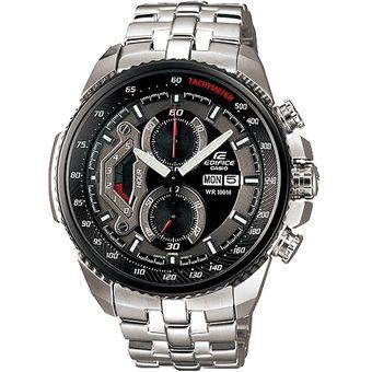 50fefc74446c Reloj Casio Edifice EF-558D-1AVDF Correa De Acero Inoxidable Para Hombre