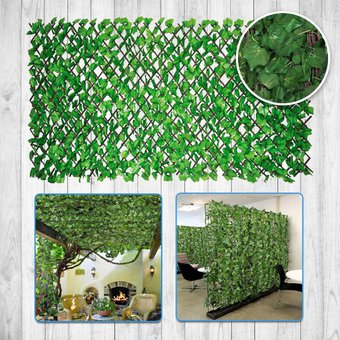 Compra enredadera decorativa sint tica follaje artificial for Plastico para estanques artificiales