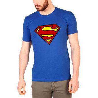 Compra Polo manga corta - D Nuñez - Superman - Azul online  6e3b969f38c2
