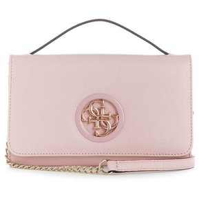 b3aba3935 Morral Clutch Mujer Guess - Open Road Color-Block Crossbody - Rosa