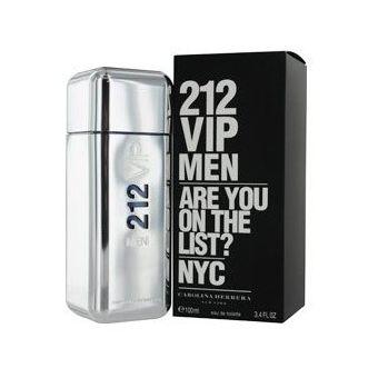 240541a448 Compra Perfume 212 VIP Men De Carolina Herrera EAU De Toilette 100ml ...