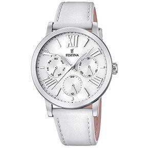 Reloj F20415 1 Blanco Festina Mujer Boyfriend Collection Festina c24cef5d5e42
