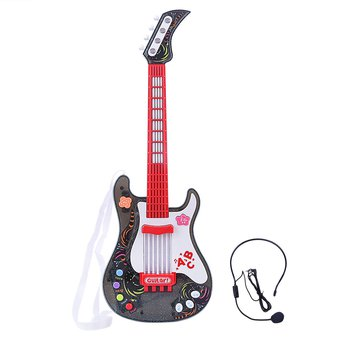 Niños 360dsc Juguete Guitarra Para Blanco De 0wy8OnNvm