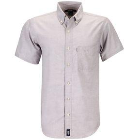 df793b896a056 Camisa Caballero Manga Corta Oxford Hombre Uniforme Empresarial Ejecutivo  Oficina Color-Gris