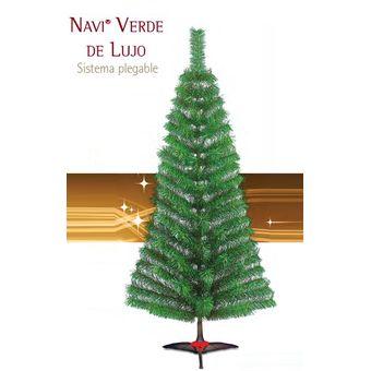 Compra Arbol De Navidad Artificial Navi De Lujo 160cm 32150 Verde