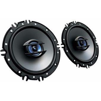Parlante Coaxial Sony Xs-gte1620 De 2 Vías-Negro