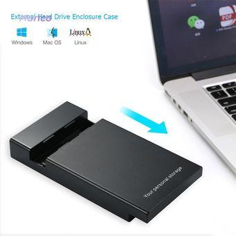 USB 3.0 a 3.5 pulgadas SATA III 5Gbps Disco duro externo Ehclosure Case