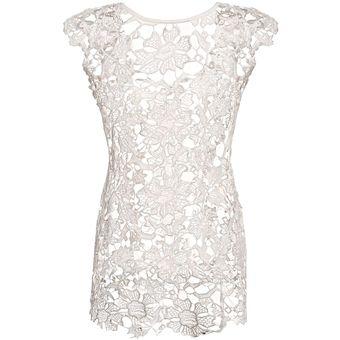 1d4b31f34 Compra Vestido de Playa Yucheer Blanco online