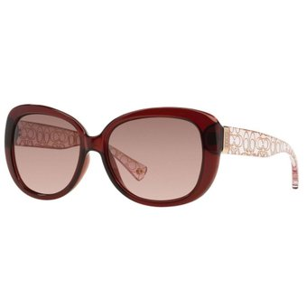 1bfba2f1fe Compra Lentes De Sol Coach HC 8076 L067 Laurin Burgundy Pink Crystal ...