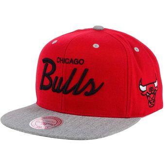 Compra Mitchell   ness - Gorra para hombre Chicago Bulls NBA Rojo ... 2d66eba8361