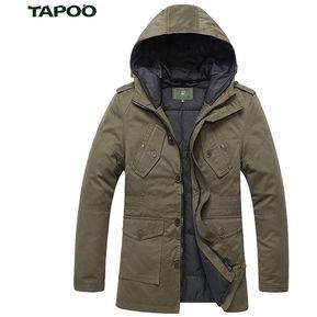 727f625eb042e Agotado Chamarra Sobretodo Tapado TAPOO Casual Multi-bolsillo Original  Hombre CAQUI