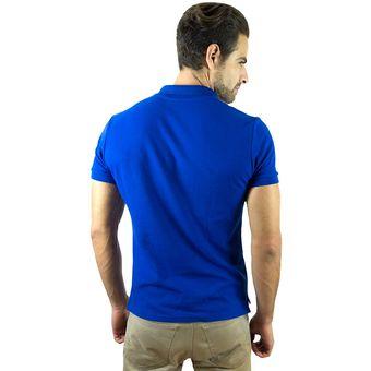 53ddba15a9ee8 Compra Playera Polo Valdov Para Hombre Classic Fit Azul Rey   Blanco ...
