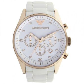 3ed2fc9db33e Compra Reloj Emporio Armani Ar5919 - Blanco con dorado online ...