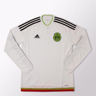 Agotado Jersey Adidas De La Seleccion De Mexico Manga Larga De Visitante aa0fd532e2548
