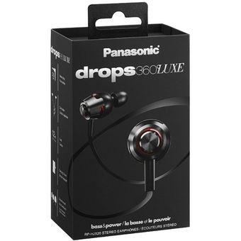 Audífonos Panasonic Drops 360 Luxe Estereo 1.2m Nuevos