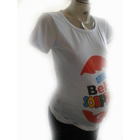 Playera Maternidad Estampado Bebe Sorpresa b859dbe37e8e1