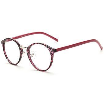 Agotado Vintage ópticos Gafas Redondo Los Anteojos Grande Marco Uni Estudiante  Miopía -T Negro Rojo 36aedc14fdba
