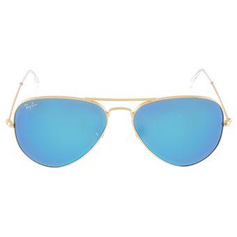ray ban aviator azul