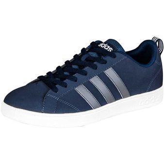 cheap for discount 0f369 1bb19 Agotado Tenis Adidas Vs Advantage Caballero Gamuza Azul 100%original