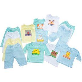 Set Semanario Camisas Para Bebe Niño-Multicolor 0-3 Meses. Baby 56e1110afc35