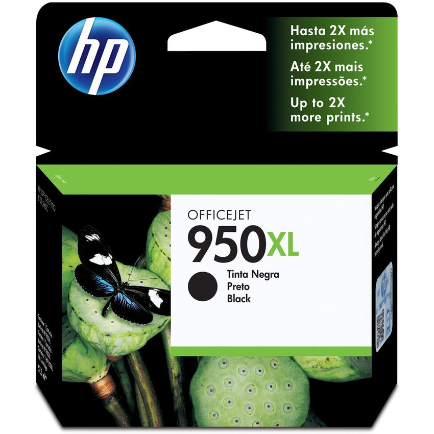 Cartucho Original de Tinta HP 950XL-Negro