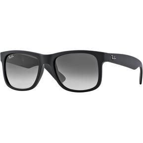c7c5b57ff Gafas de Sol Ray Ban Sol Justin Negro Caucho 0RB4165 - 601/8G - Hombre