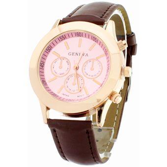 c47e9f5e777b Agotado BLACKMAMUT Reloj Análogo Movimiento Japonés Fondo Color Rosa Con  Contorno Color Bronce Modelo Beauty Colors-