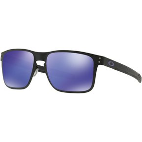 62a223b418 Lentes Oakley Holbrook Metal Matte Black / Violet Iridium