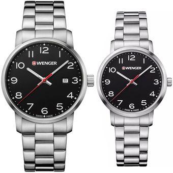 91ce9f6a9fb7 Compra Pareja de Reloj Wenger Avenue TIME SQUARE online