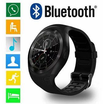 c2471c0f39ef Y1 Reloj Inteligente Soporte SIM   TF Tarjeta Con WhatsApp Y Facebook  Fitness Business Smartwatch -