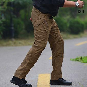 Pantalones Tacticos Elasticos Para Hombre Pantalon De Combate Urbano De Algodon Militar Con Varios Bolsillos Pantalon De Trabajo Slim Cargo 3xl Bfix79 Wolf Brown Linio Mexico Ge598fa18zotklmx
