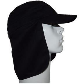 Sombrero Gorro Alta Proteccion Sol Cubre Nuca Negro ddadcd7c0bd