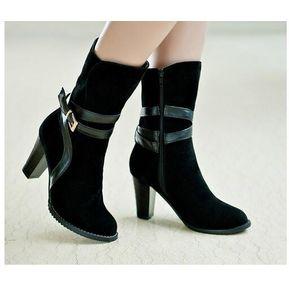 Zapatos De Tacon Genérico Mujer-Negro df06261724c6
