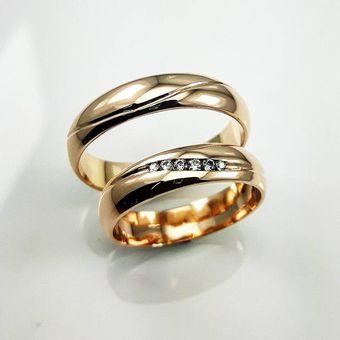 c4710808a2280 Argollas Matrimonio Compromiso Marian Oro El Señor De Los Anillos ADa185