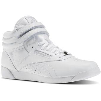 6a0720625b Zapatillas Reebok Freestyle Hi Plateado - Mujer|Linio Perú ...