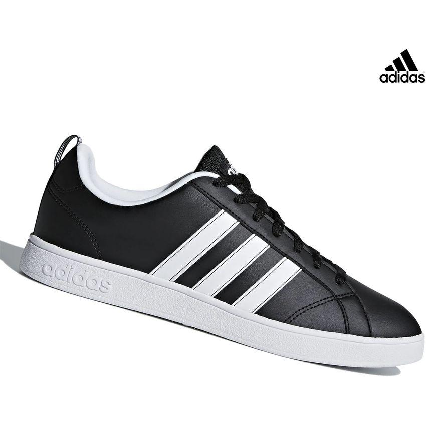 Zapatilla Adidas Vs Advantage Para Hombre - Negro Y Blanco