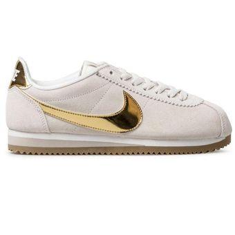 Compra Tenis Deportivos Mujer Nike Classic Cortez Se - Beige online ... 83db2396c0cb