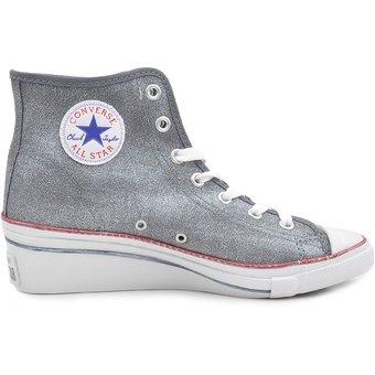 converse bota gris