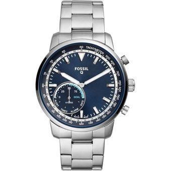 8b2706830d02 Compra Reloj Fossil Q Goodwin Ftw1173 para Hombre-Plateado online ...