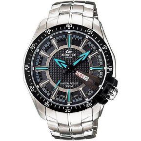 9c2d0127d1b0 Reloj Casio Edifice EF-130D-1A2 Análogo Plateado