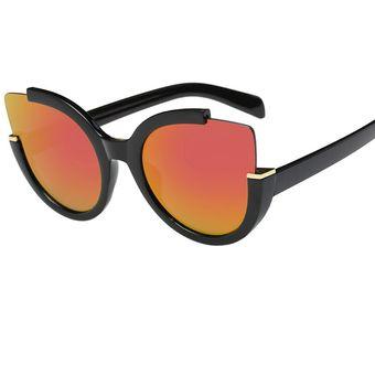 1f7d7c1c15 Compra Gafas De Sol Retro Lente Espejo Aviador Unisex-naranja online ...