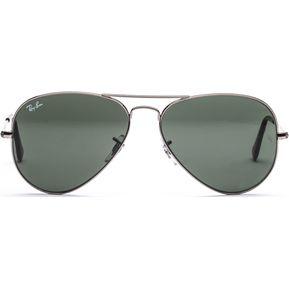cfee17a60a Gafas De Sol Ray Ban Aviator 3025 W0879 Gun Metal / Verde 58mm