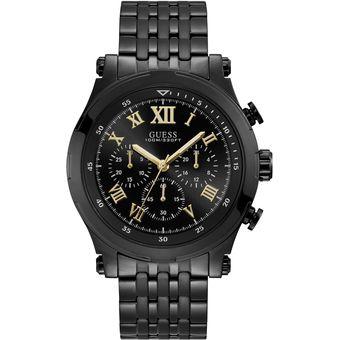 Compra Reloj Guess W1104G2 Para Caballero- Negro online  e0ba285010c2