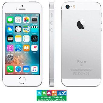 23f10f20d12 Compra Apple Iphone SE 64GB Plata Grado B online   Linio Chile