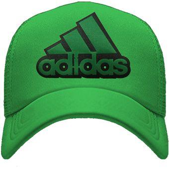 Compra Gorra Logo Adidas Verde online  5e02f5a73f4
