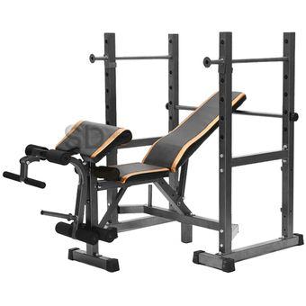 Press banca 280 kg Squat separable Mod 1006b